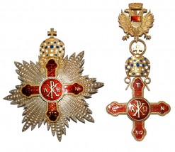 Orthodox Order Breast Star and Commander Cross